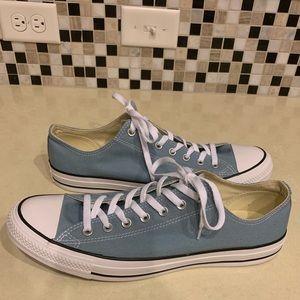 Men's blue converse size 13